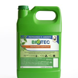 Verde Sanitizante superficies